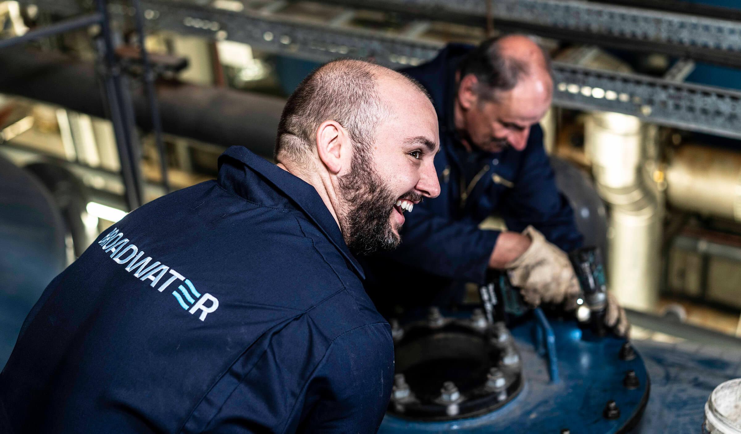 Broadwater engineers branded workwear