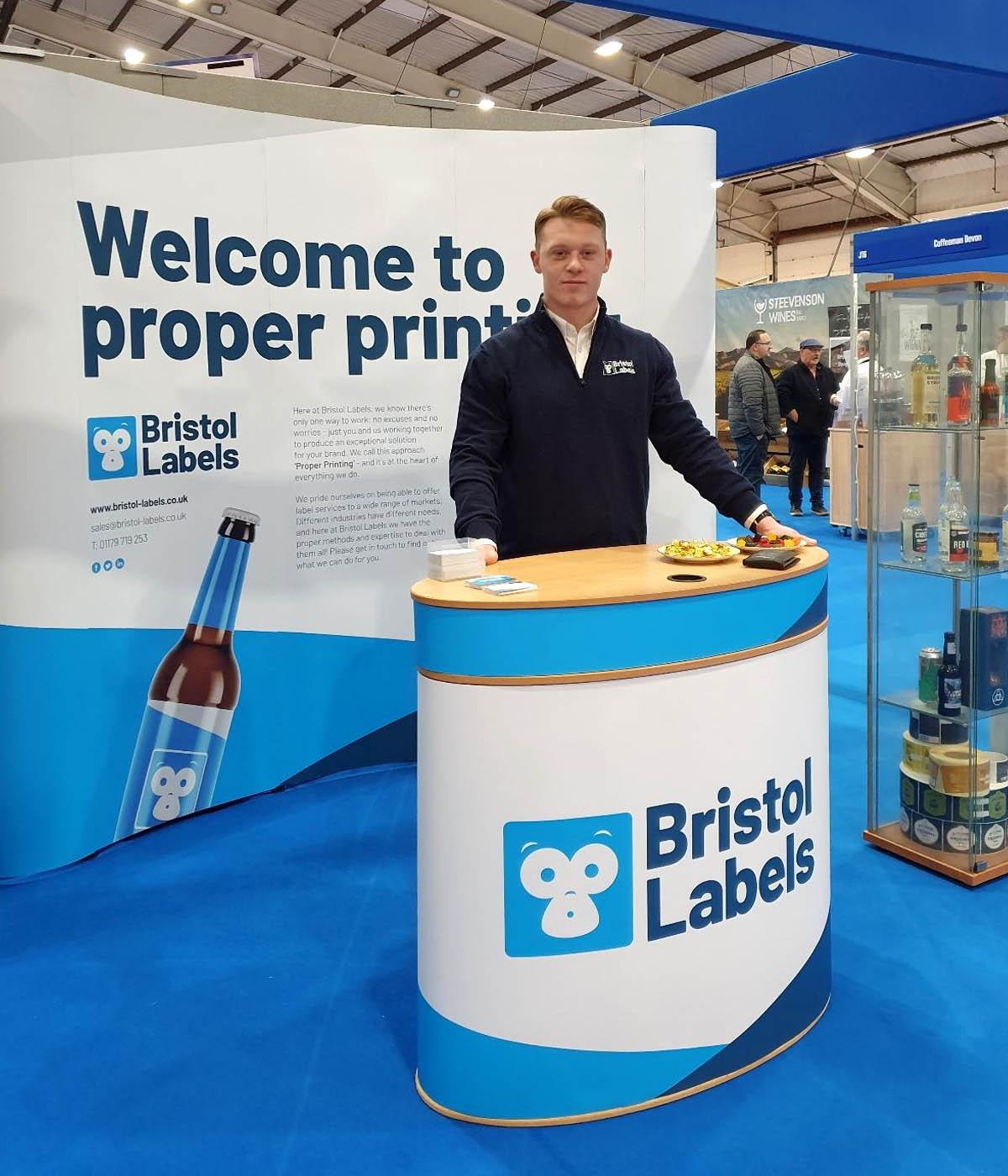 Bristol Labels tradeshow stand design