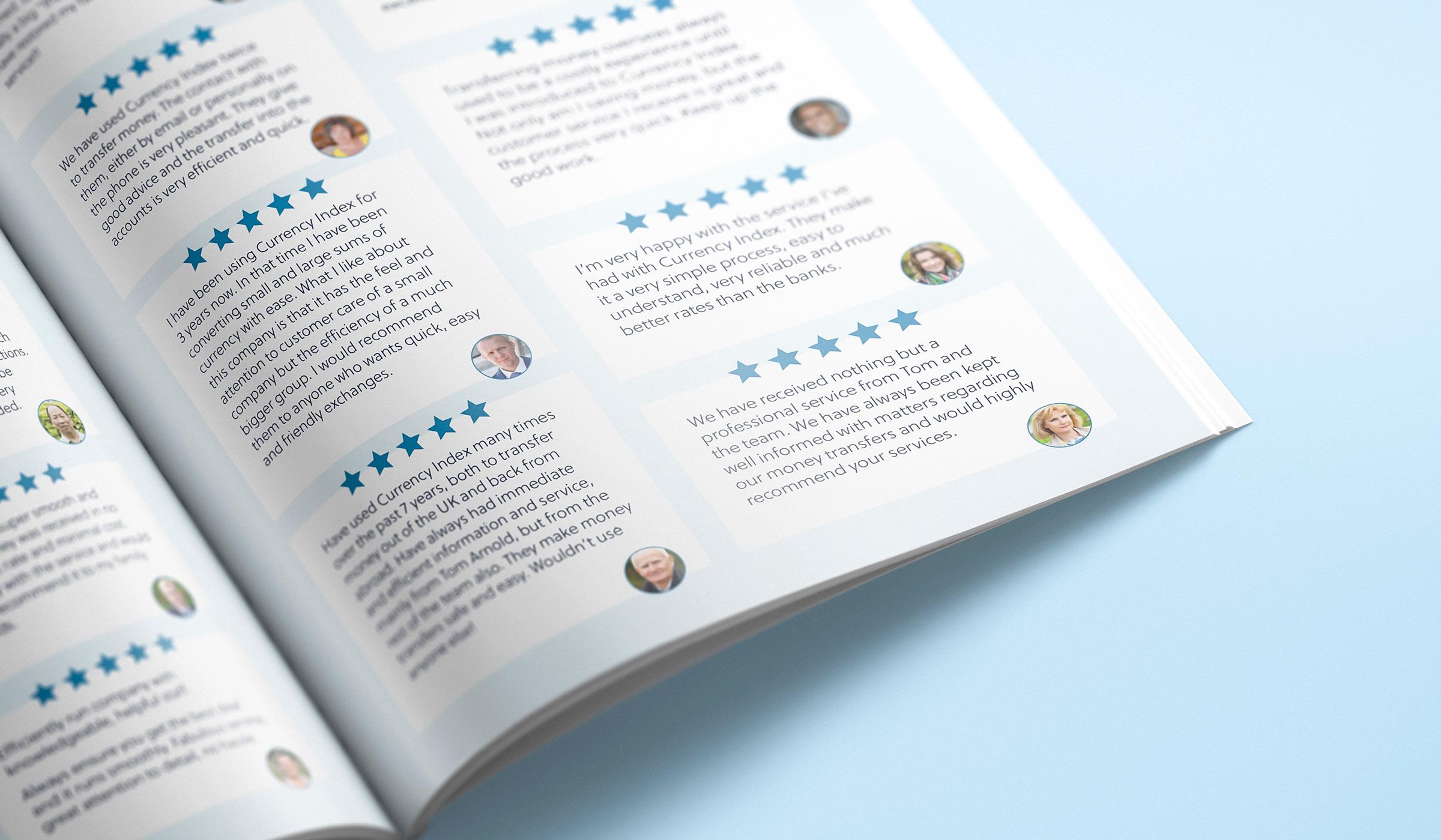 brochure design details