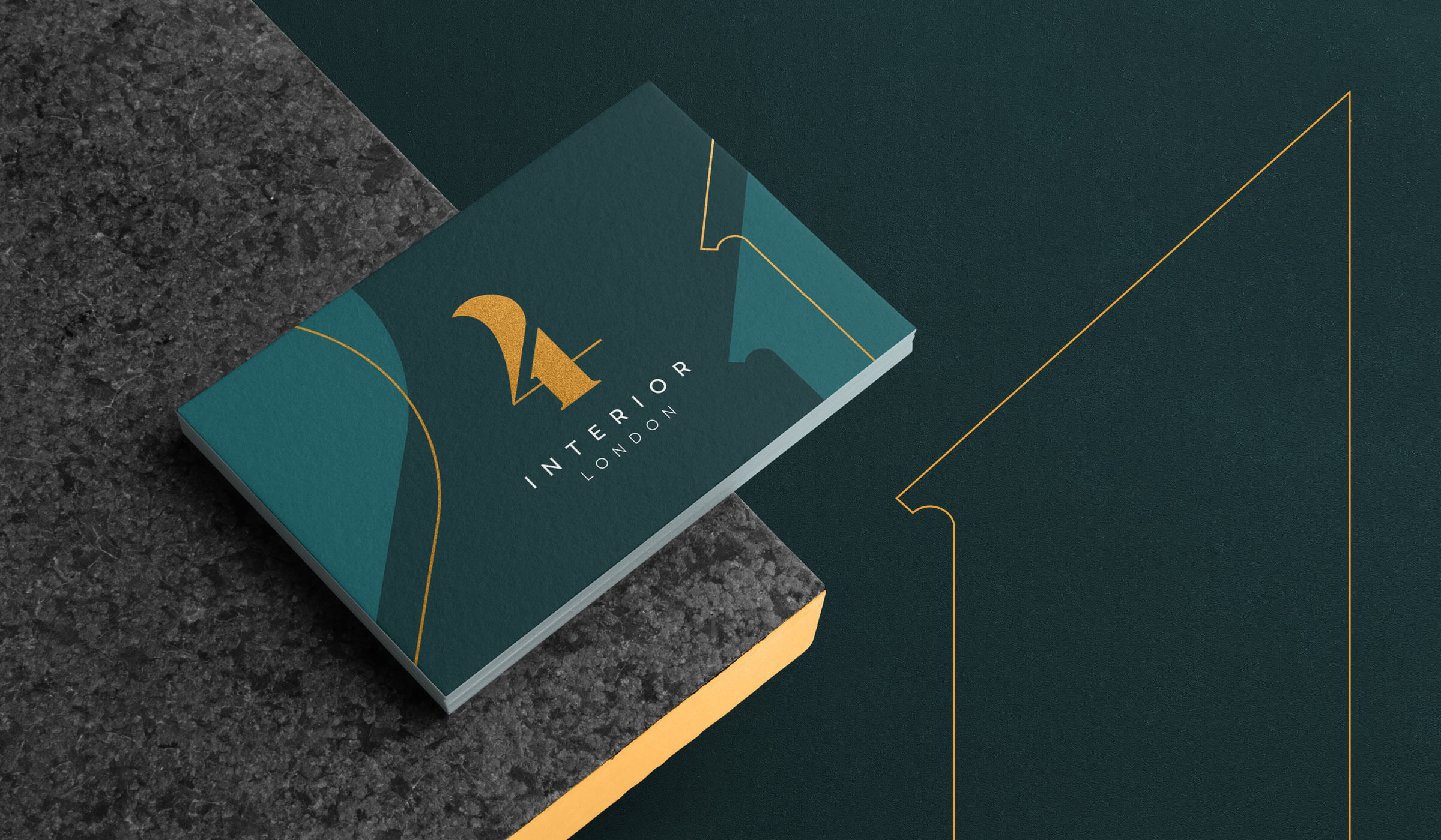 4interior stationery design
