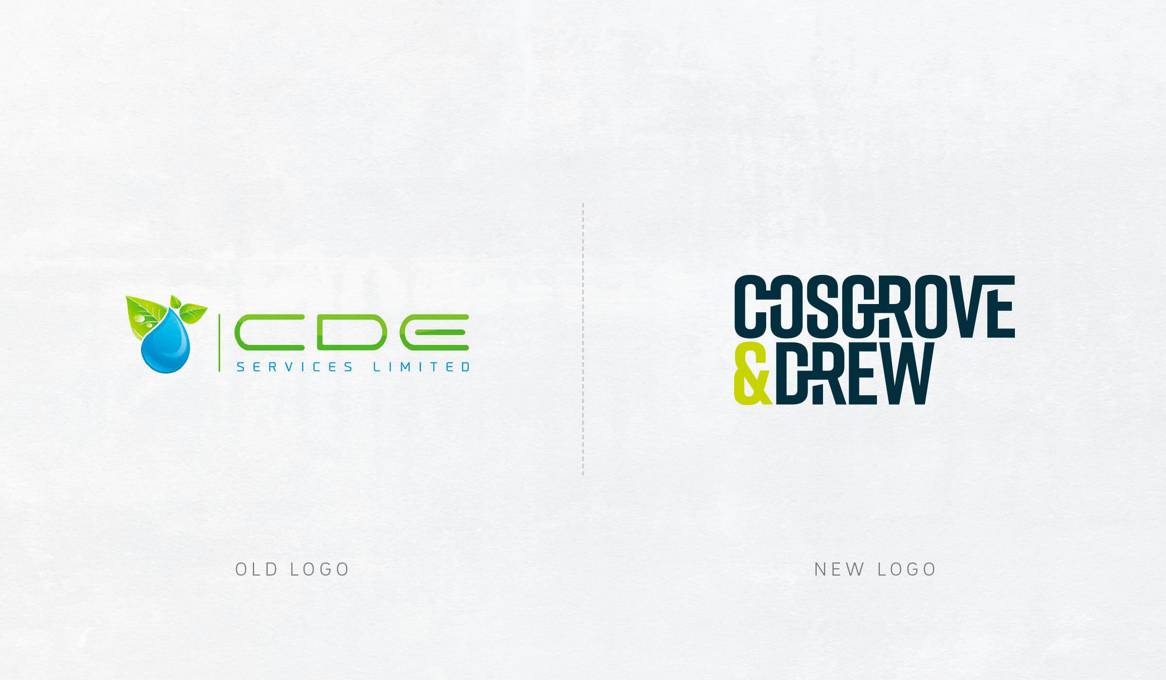 logo design before/after