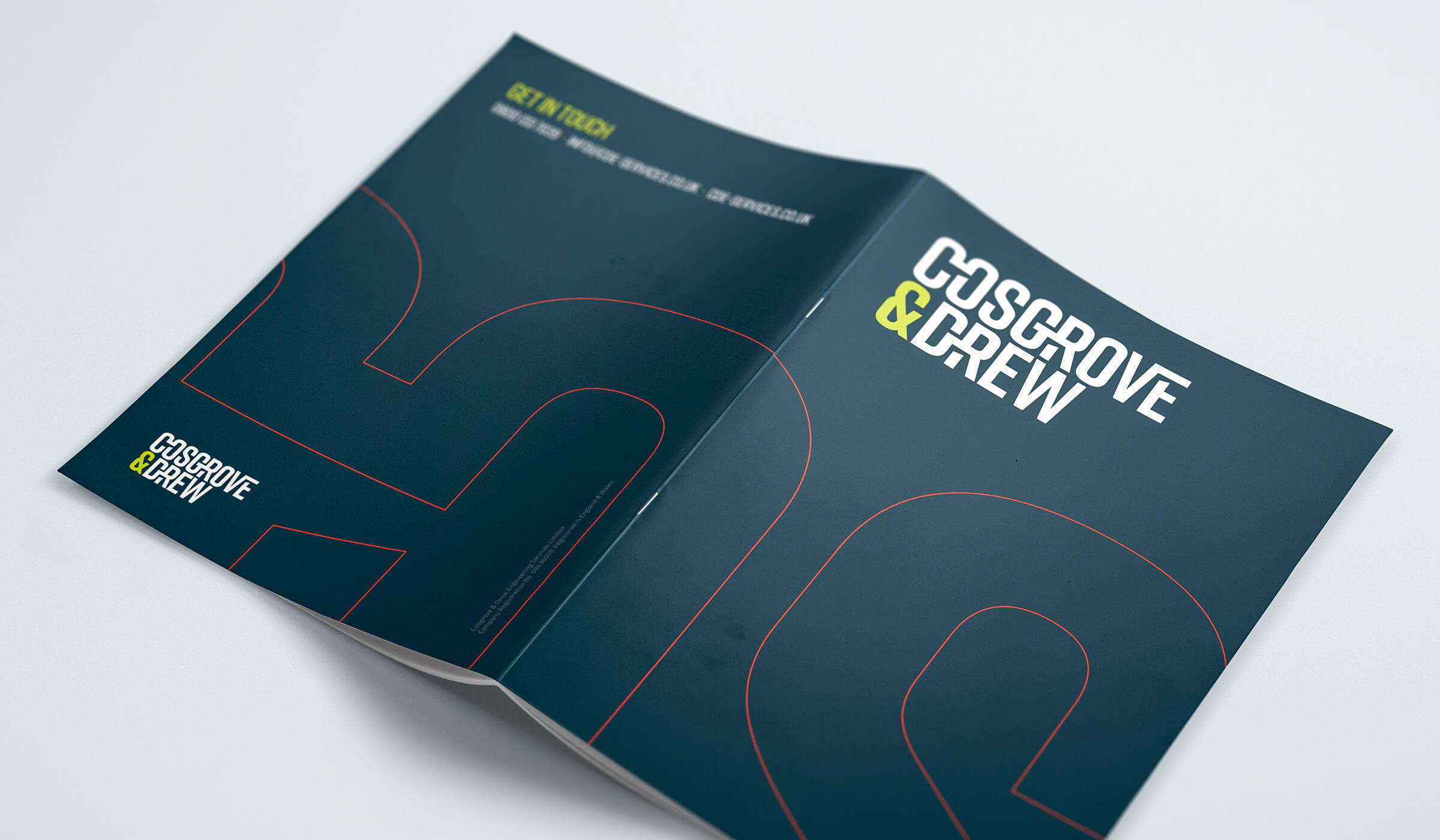 brochure design cover