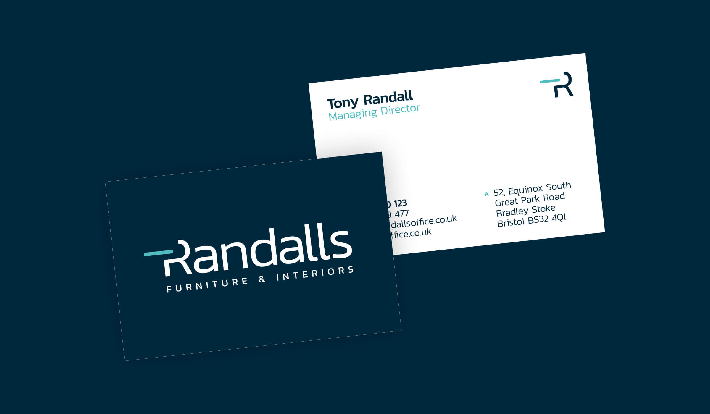 Randalls business cards