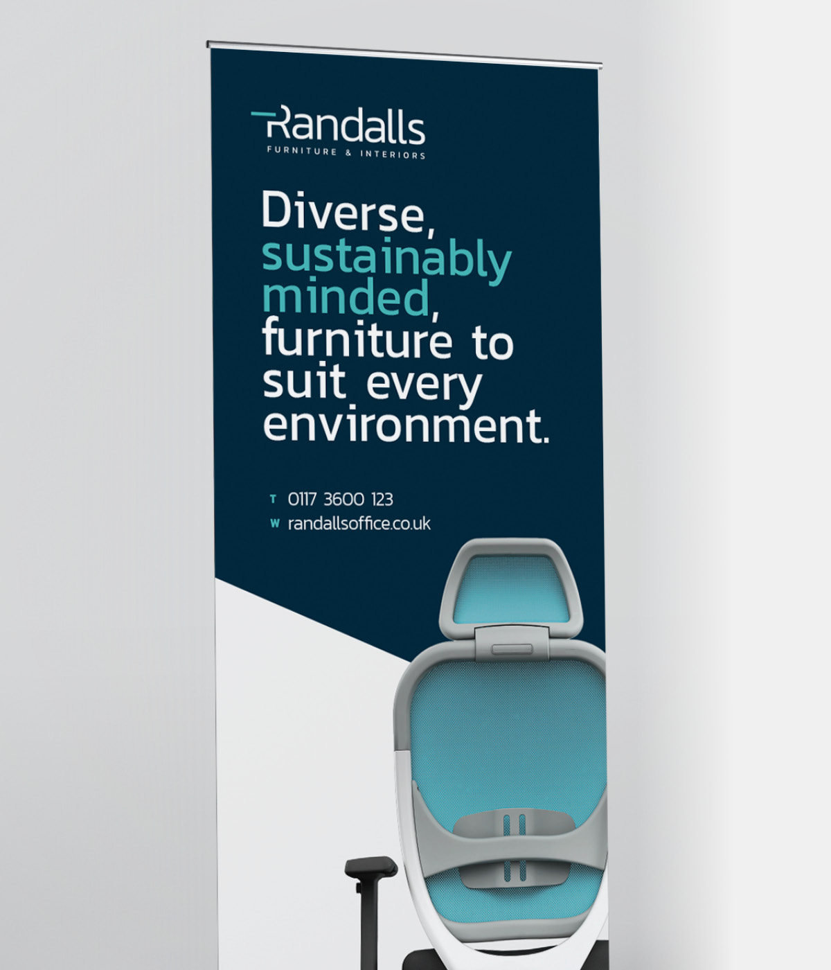 Randalls roller banner
