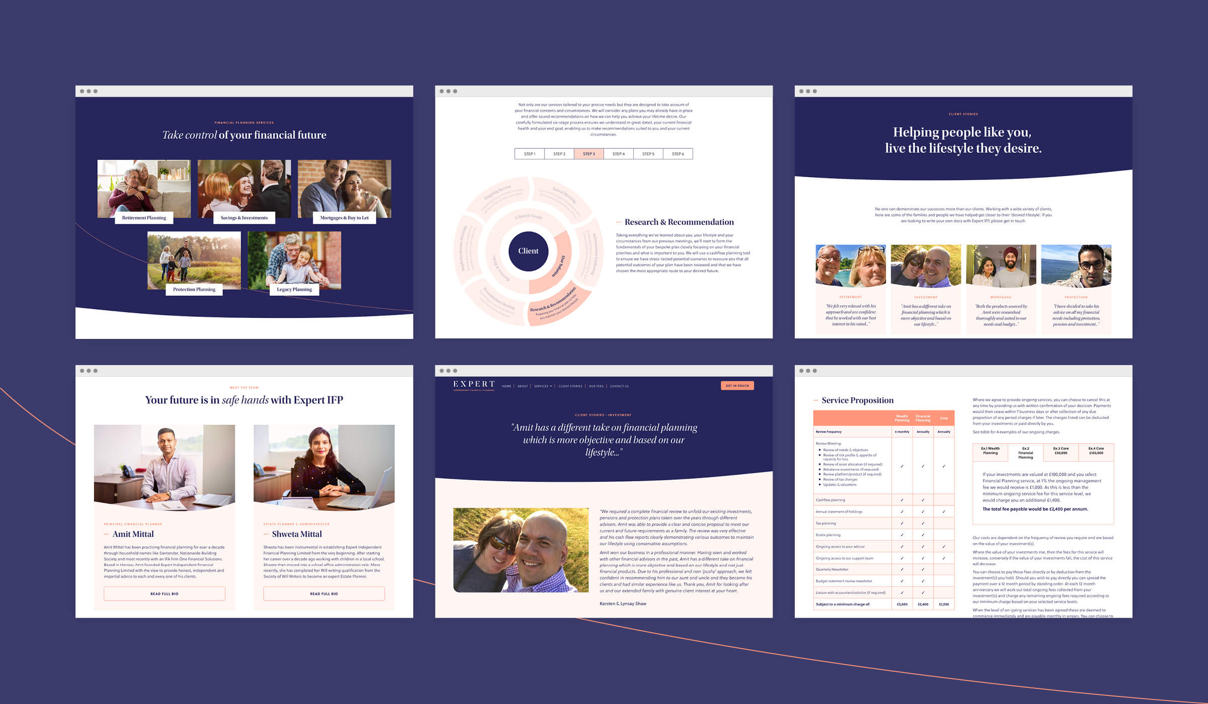brochure spreads animation