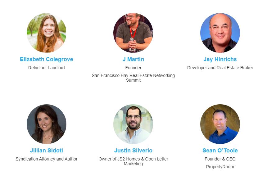 SF Bay Summit Real Estate Speakers 2020