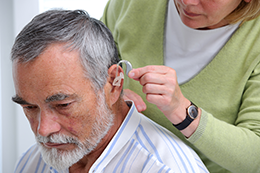 Custom hearing aid fitting