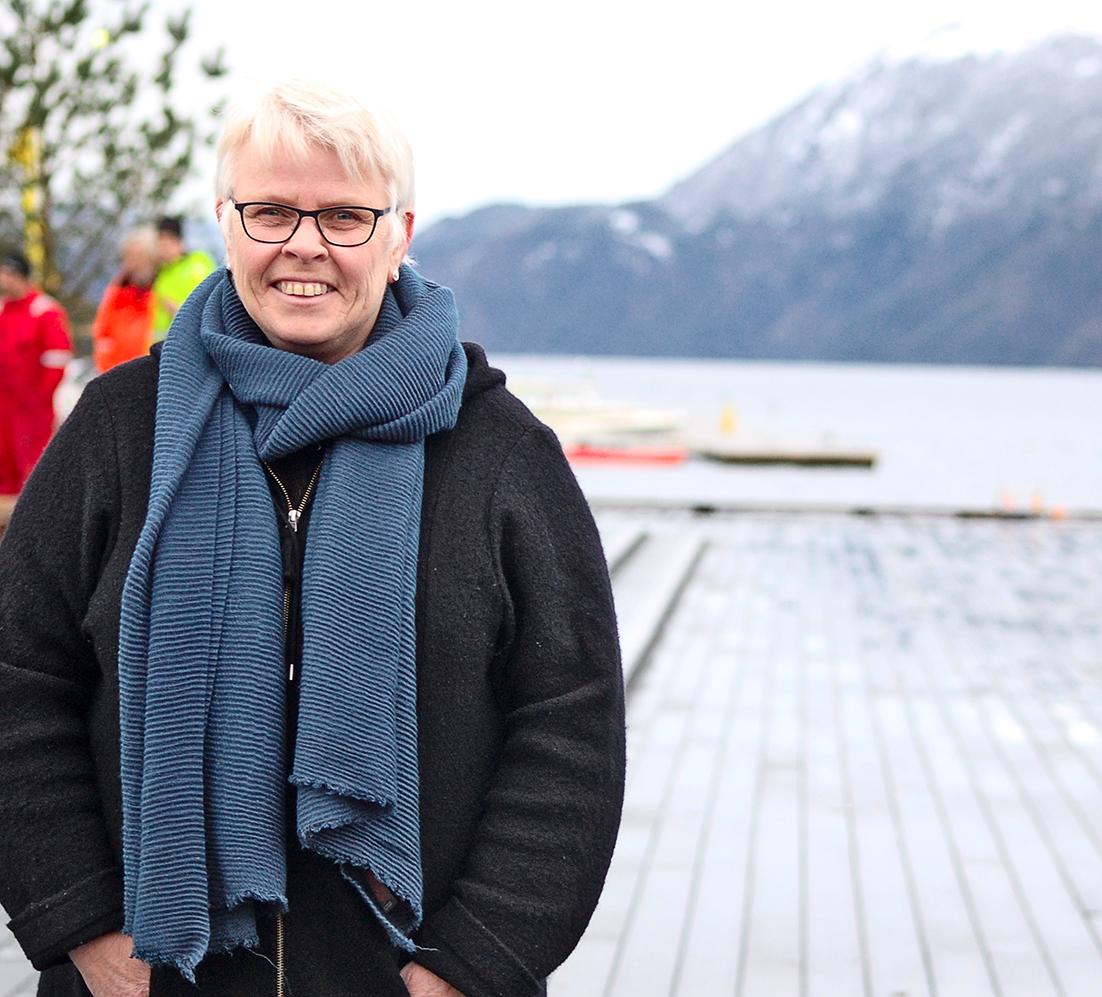 Image of mayor in Suldal Gerd Helen Bø
