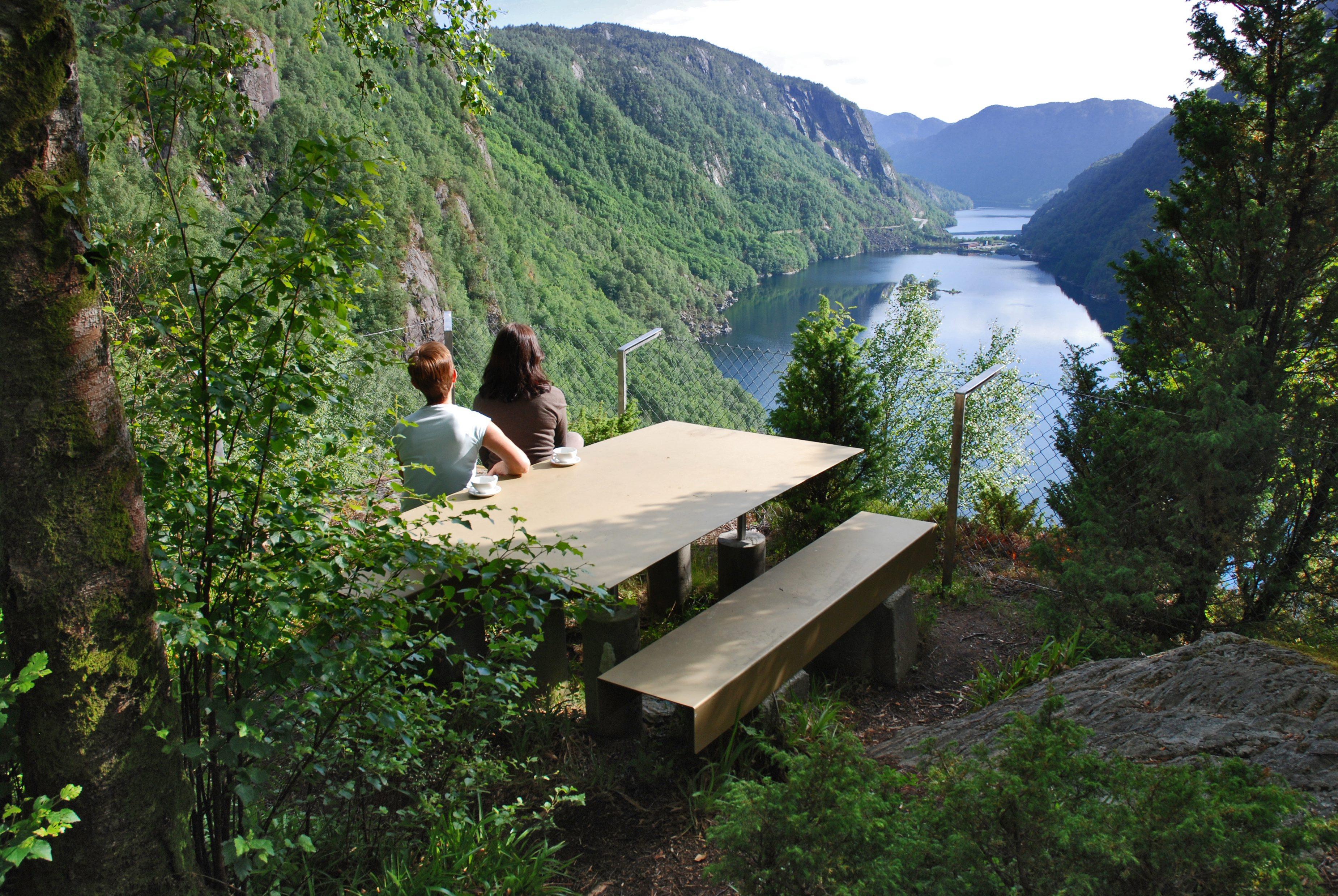 Lovrafjorden, National Scenic Route Ryfylke