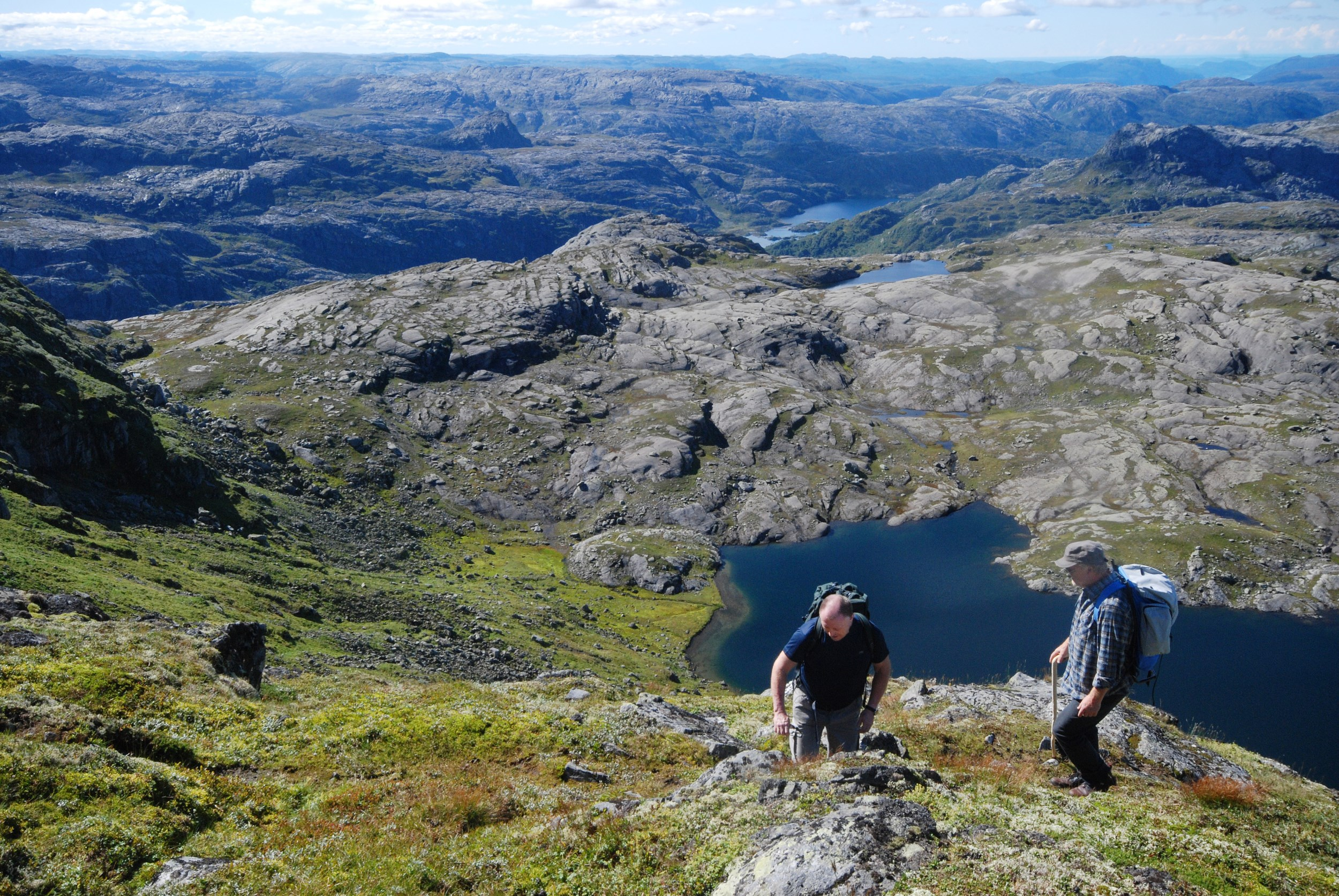 Picture of hiking Napen in Suldal