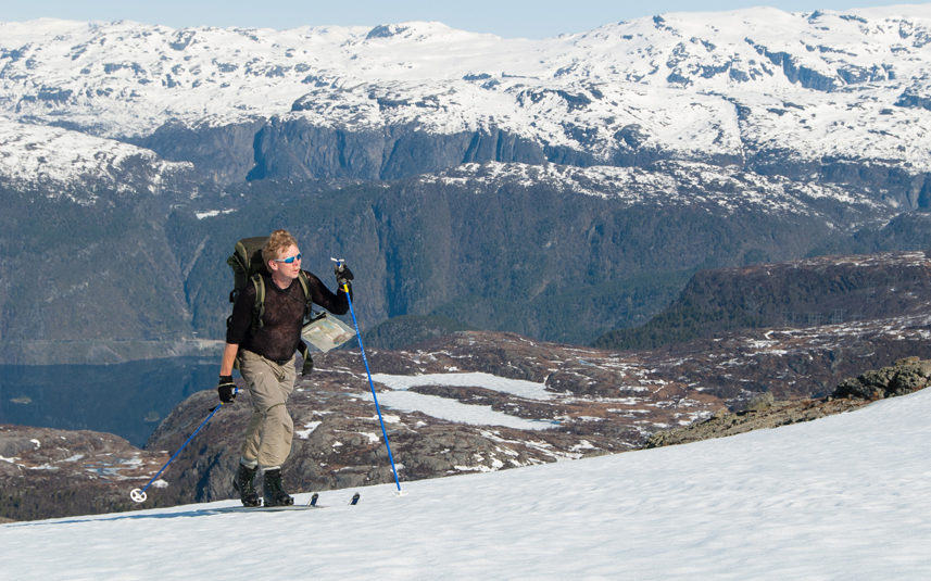 Picture of skiing in Suldal