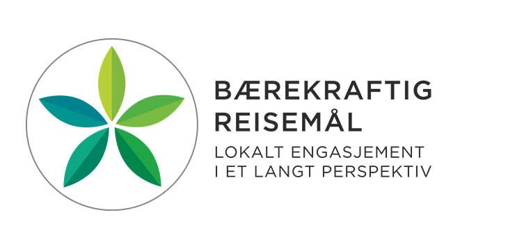 Bærekraftig reisemål logo