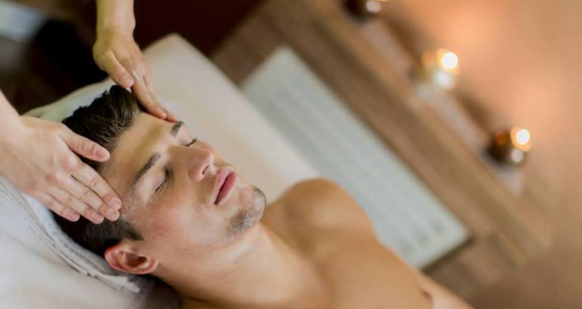 Ansiktsbehandling för män