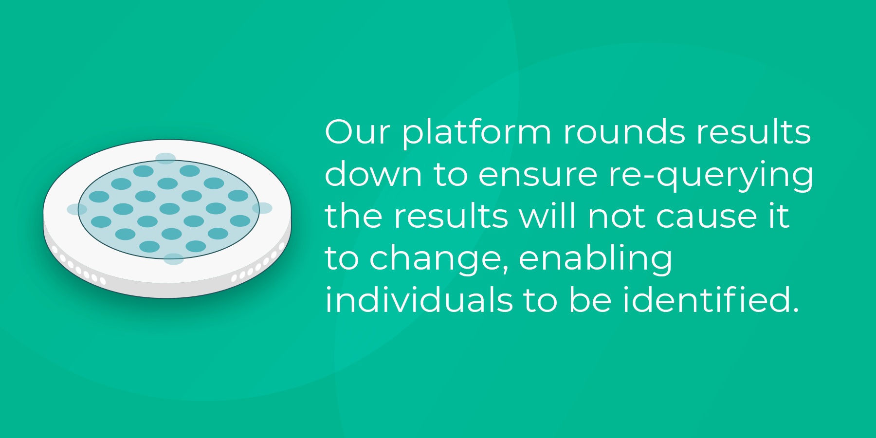 Our platform rounds results down