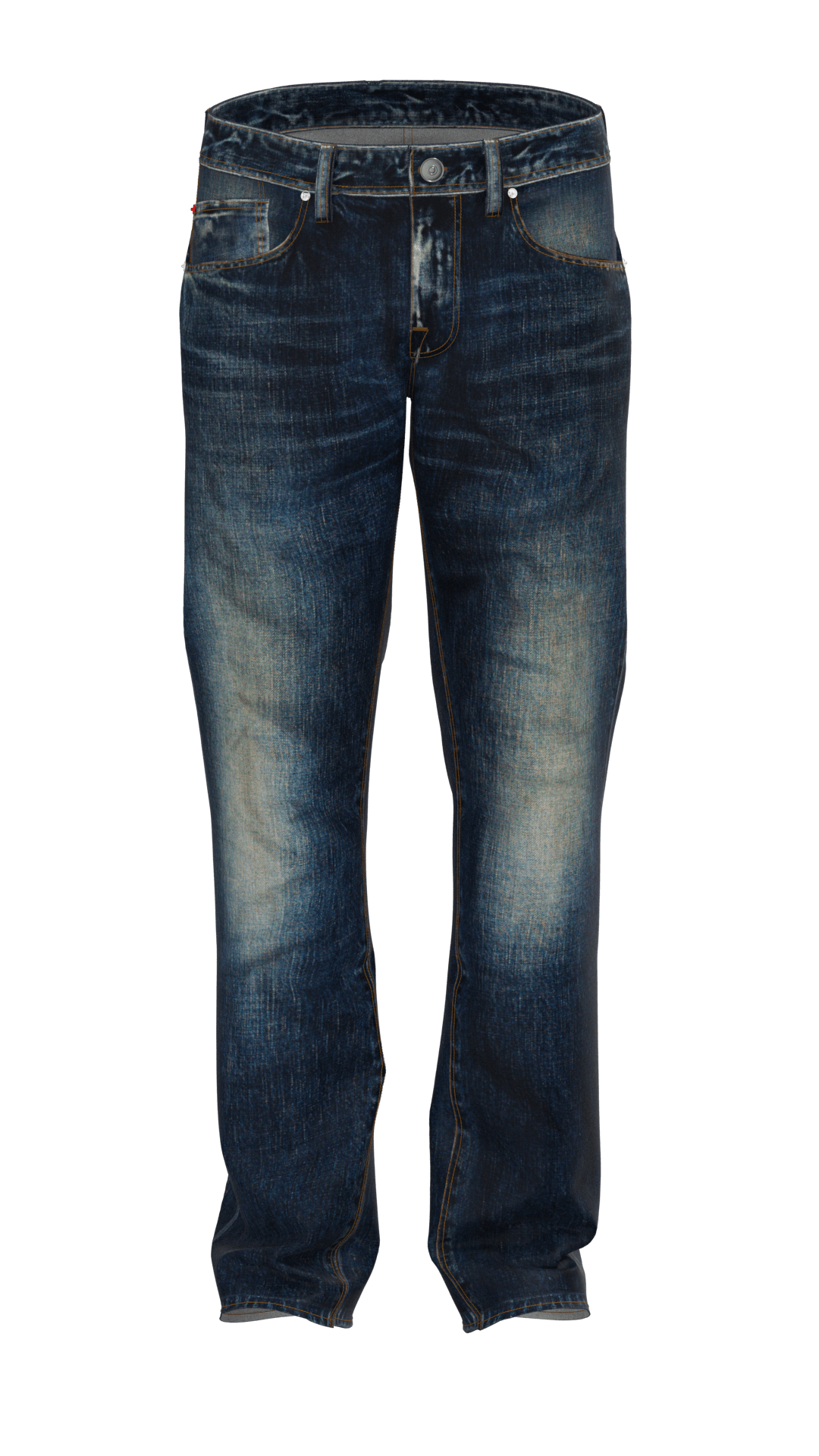 3d rendered jeans image