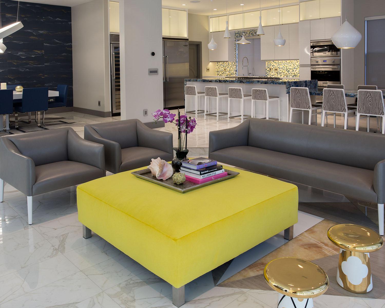 Ozzykdesigns - Modern Family Room