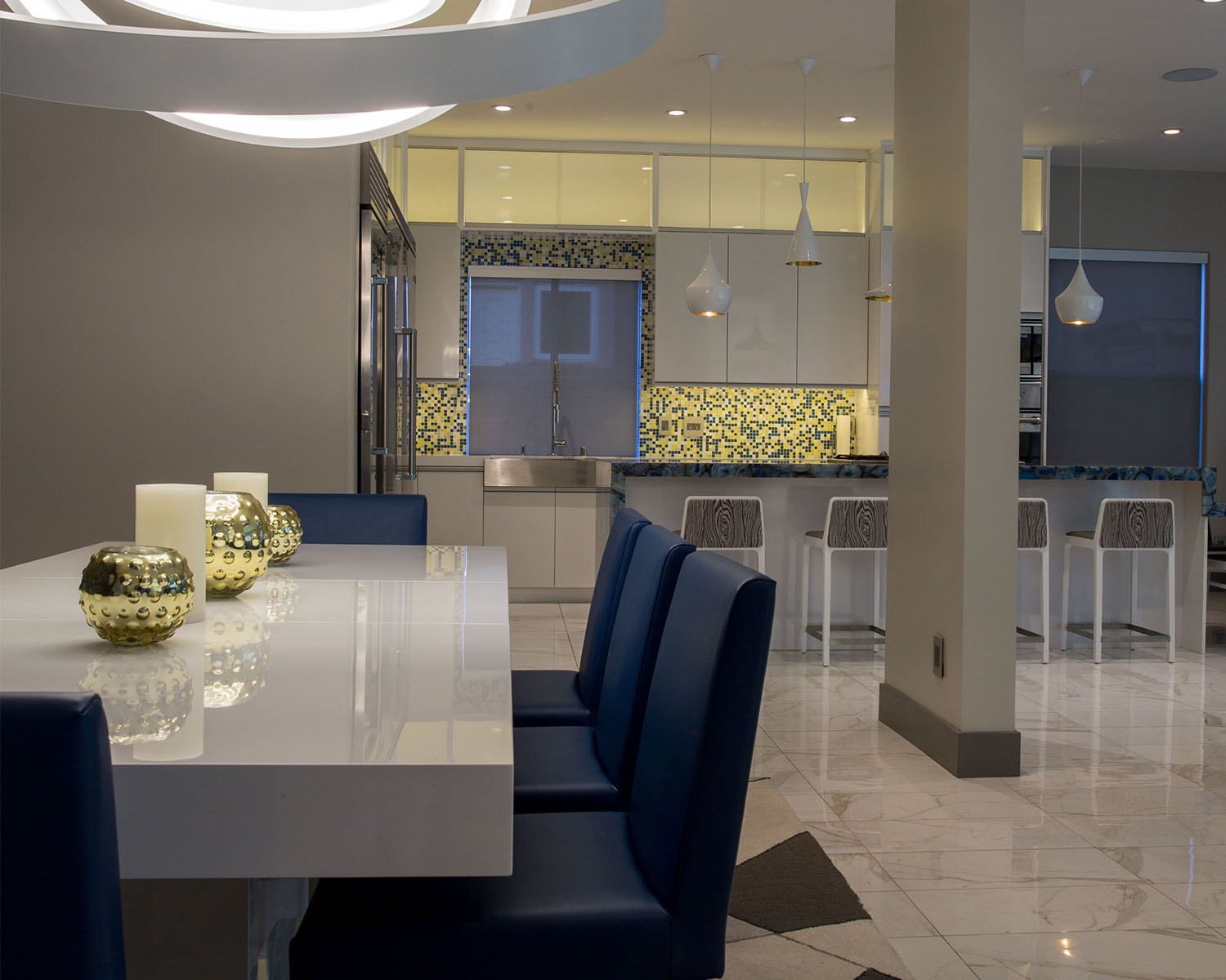 Ozzykdesigns - Contemporary Dining Room