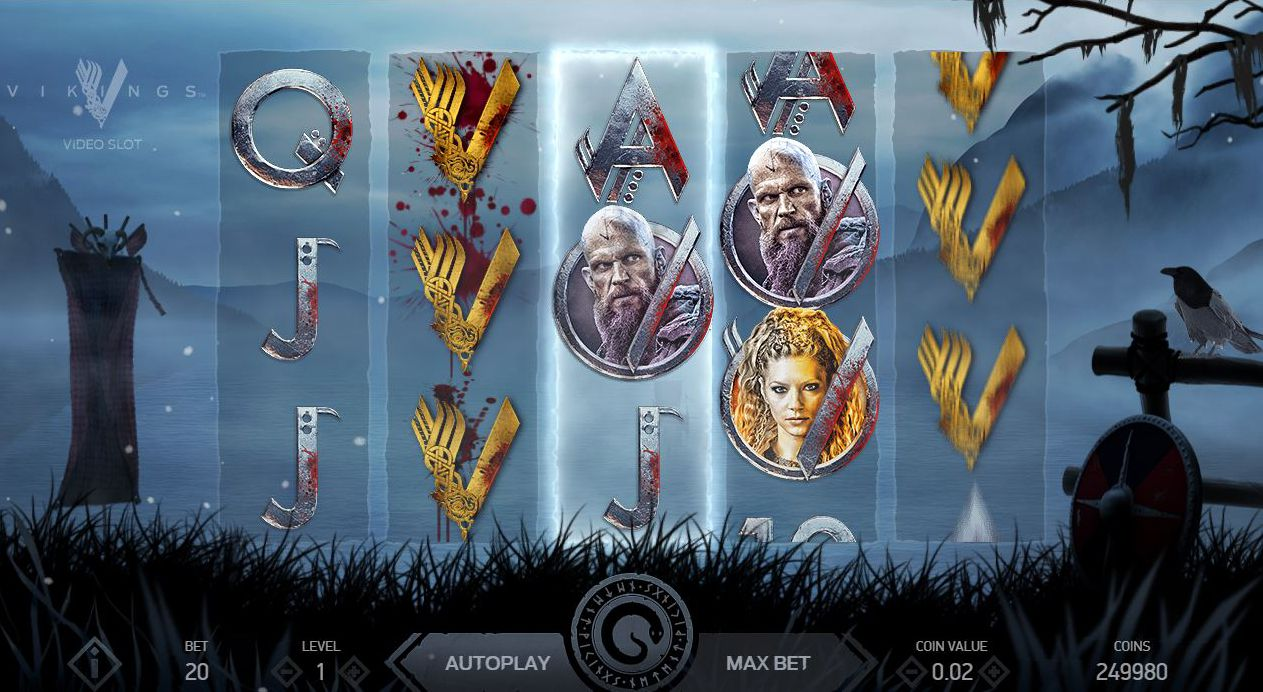 Vikings Slot -pelikuvaa