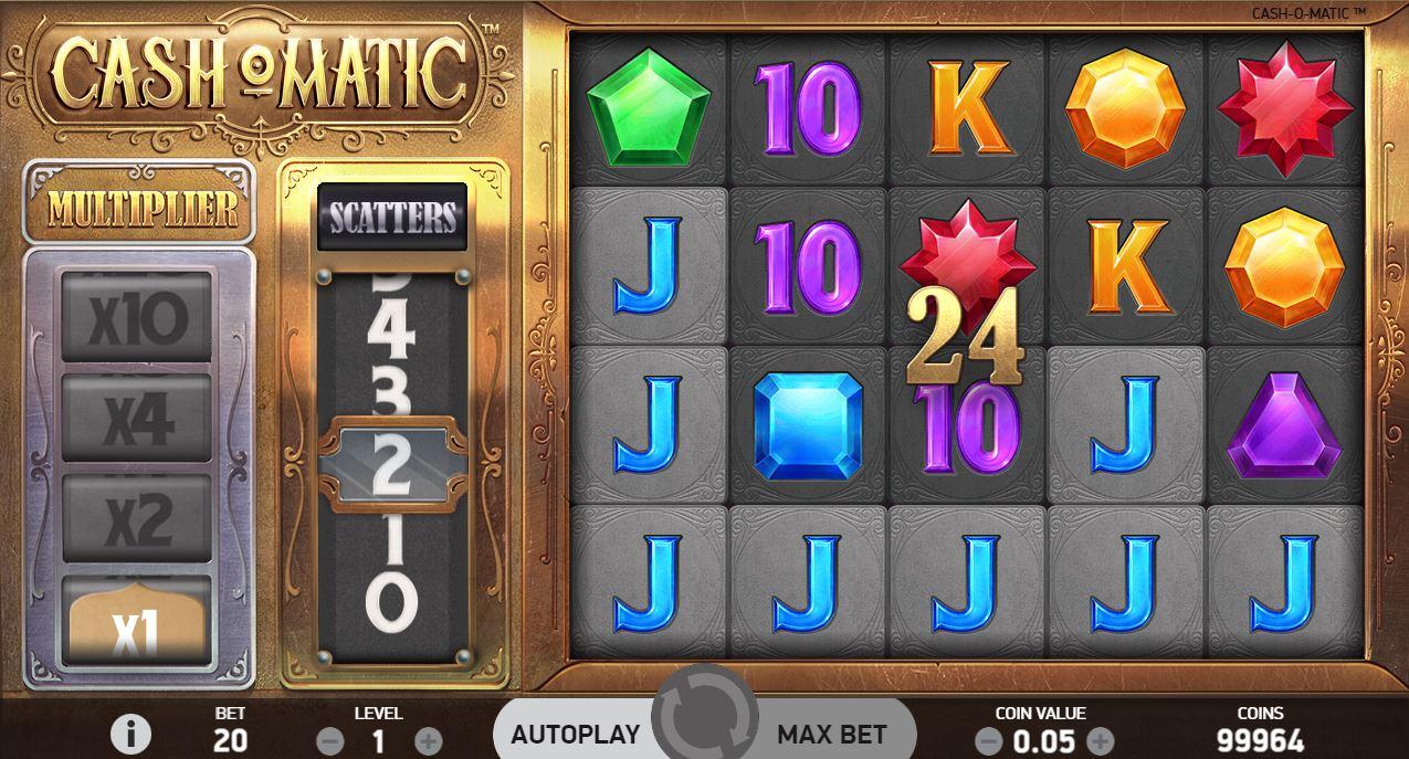 Cash-O-Matic Slot pelikuvaa