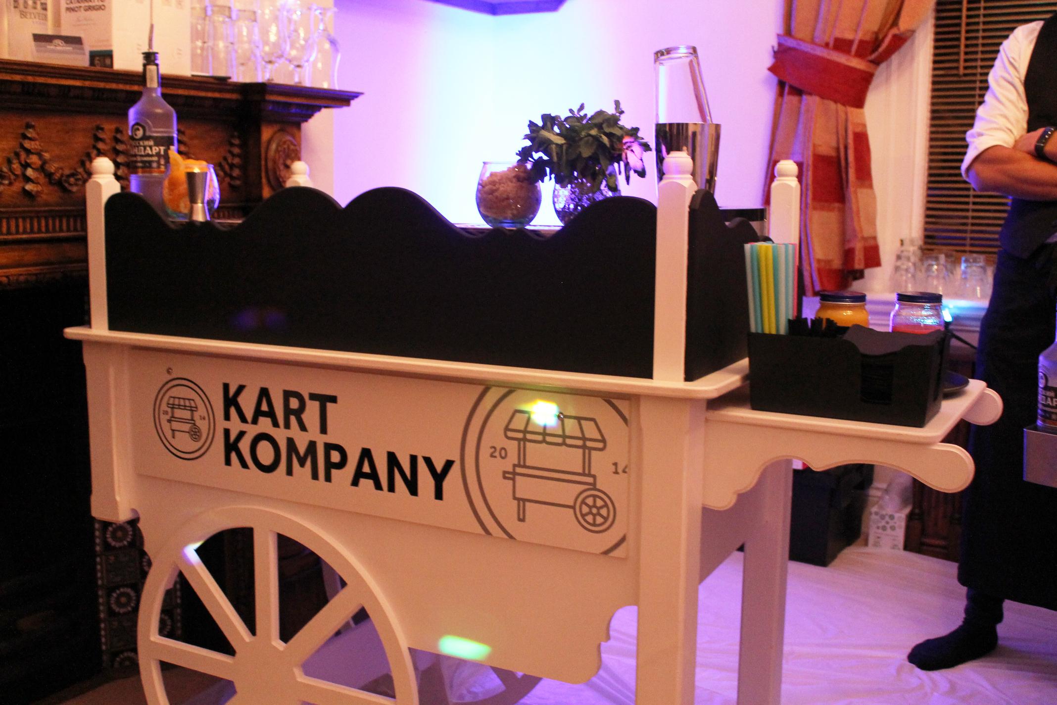 Original Wedding Candy Cart