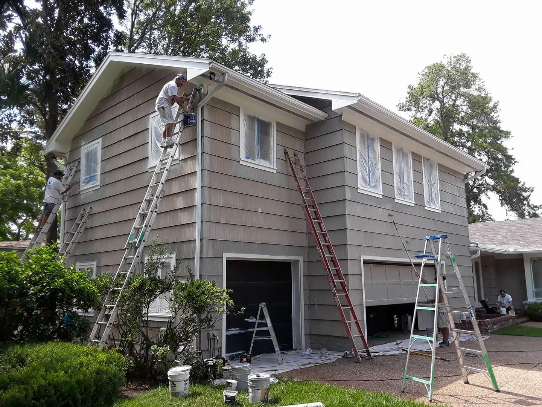 Exterior Home Painting Jacksonville Start