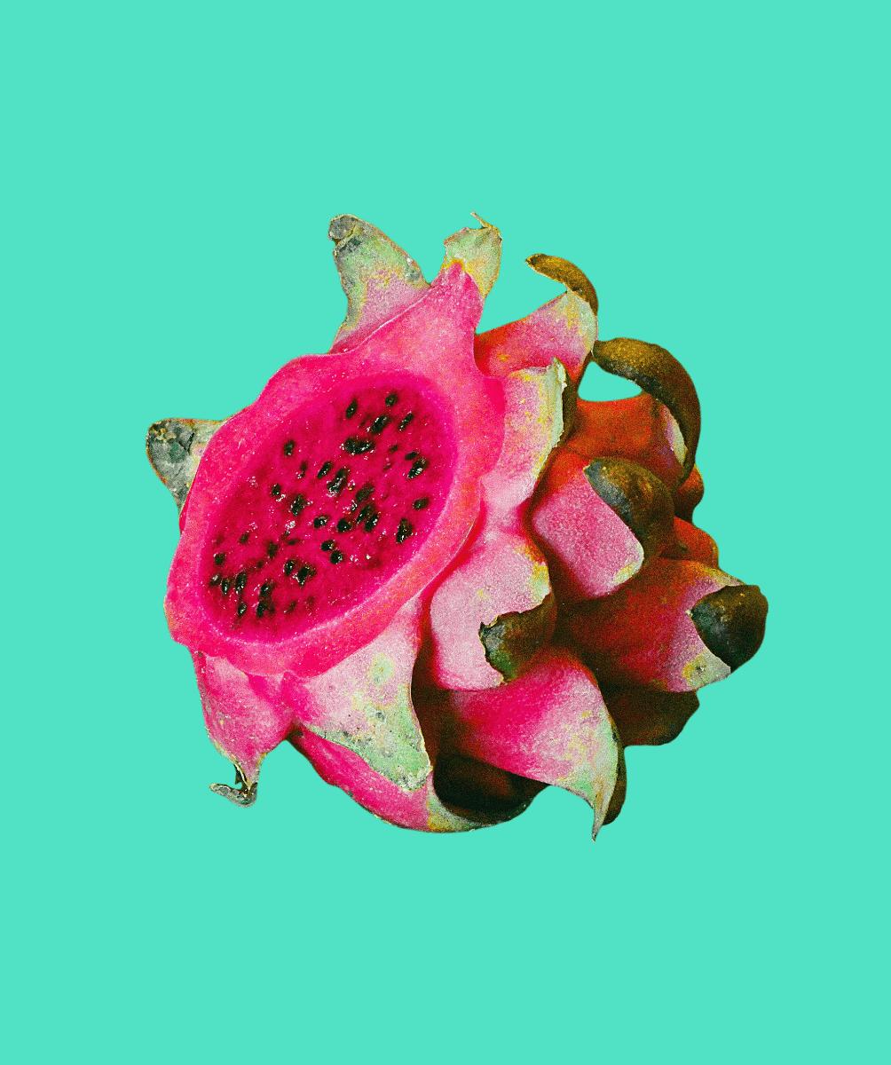 creative dragonfruit photo