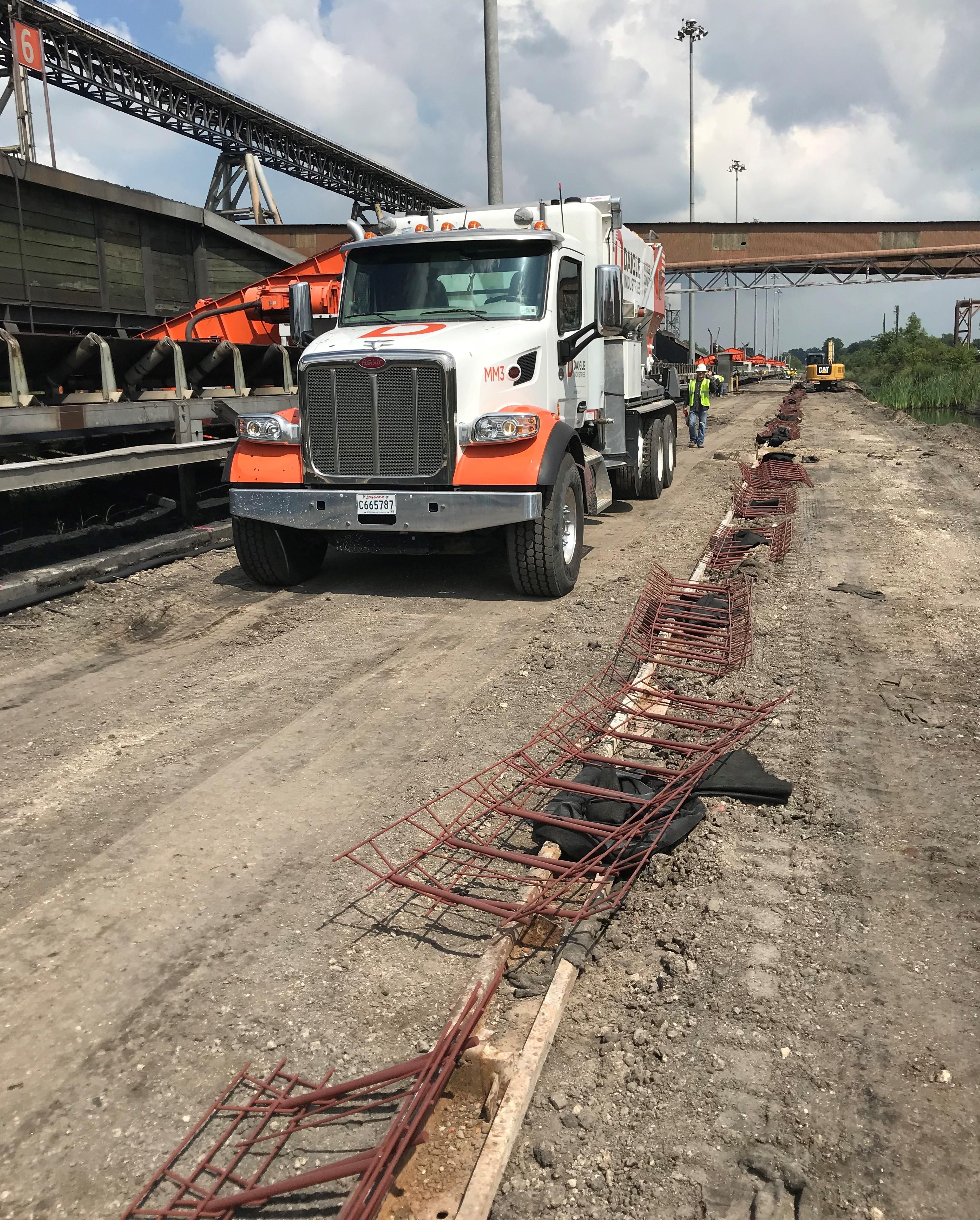 Impala Terminal Concrete Road Project