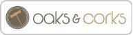 Oaks & Corks Logo