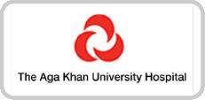 The AgaKhan Universtiy Hospital Logo