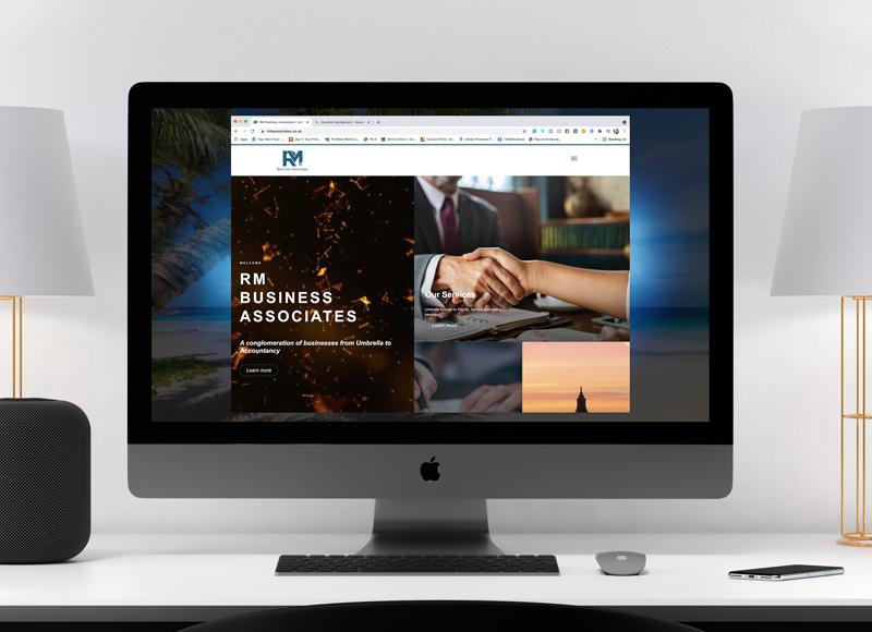RM Business Associates Website