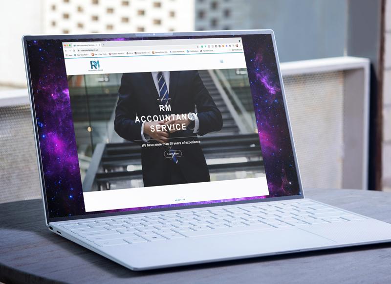 RM Accountancy Website