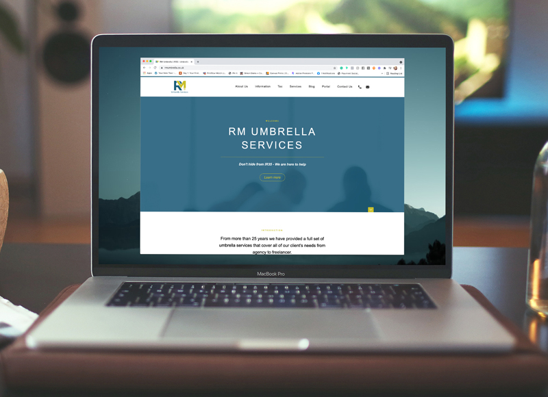 RM Umbrella Website