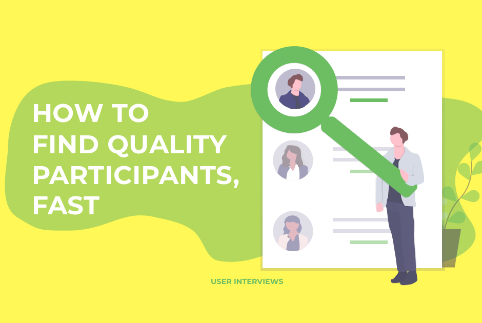 How To Find Quality Participants, Fast Hero Image
