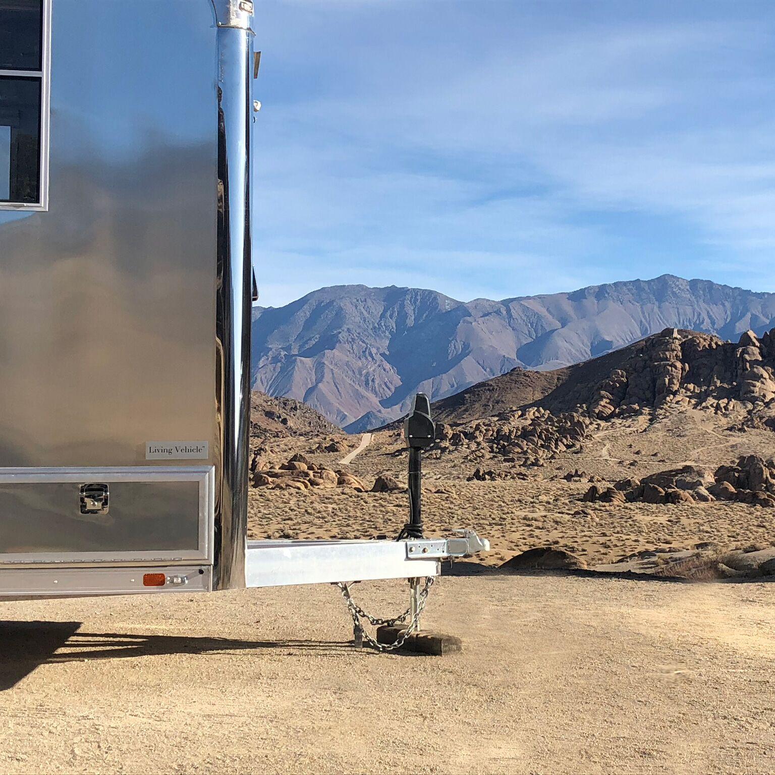off grid travel trailer