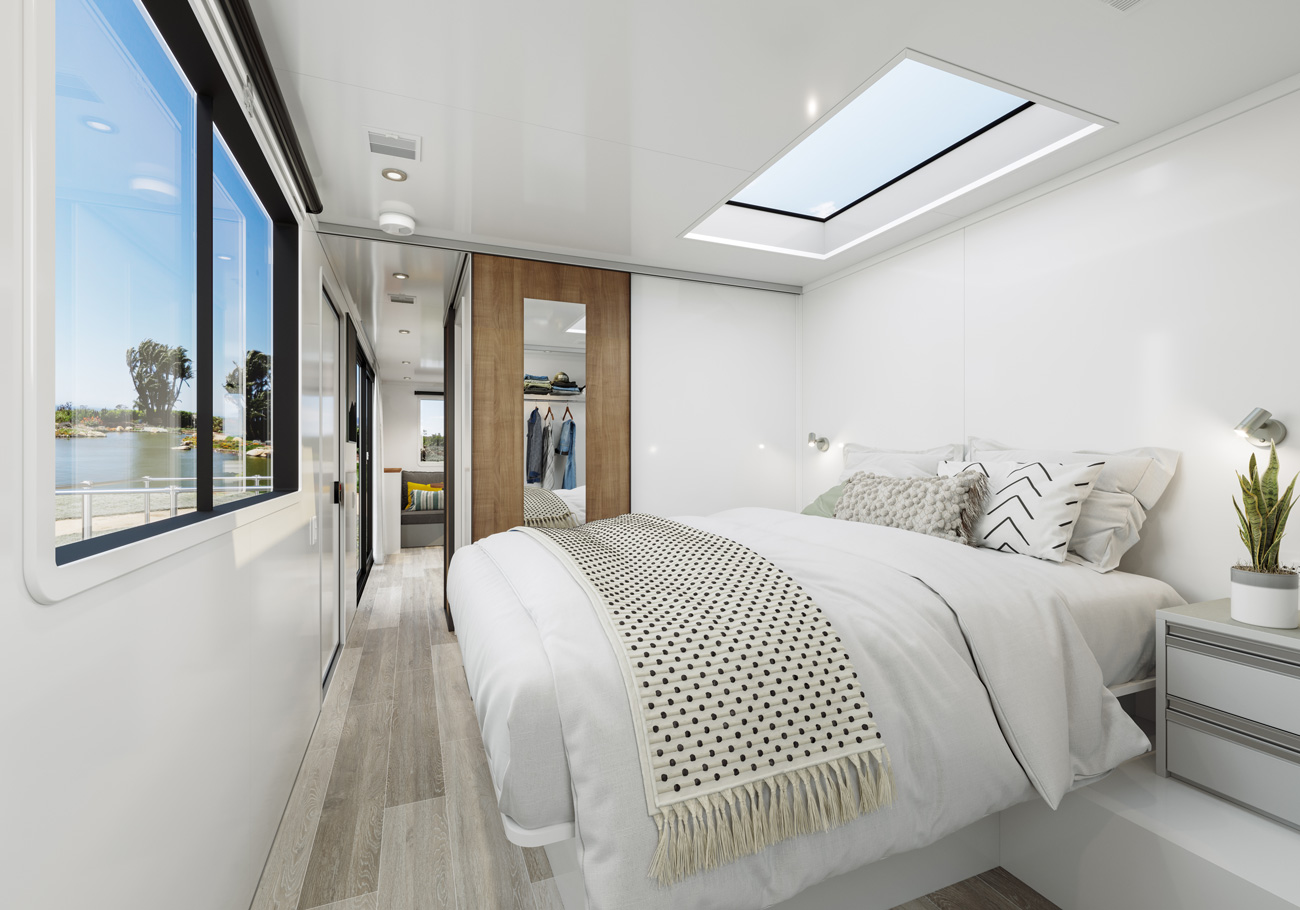 living vehicle 2020 model bedroom