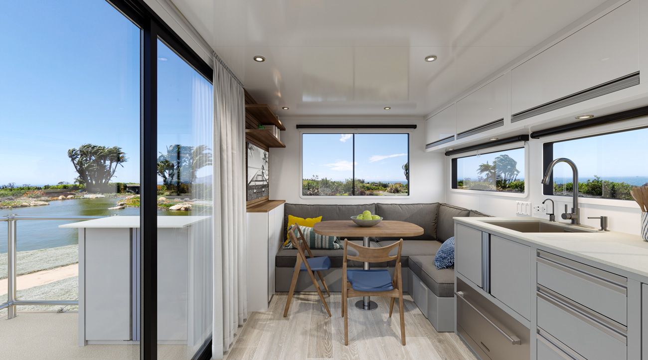 living vehicle 2020 model kitchen