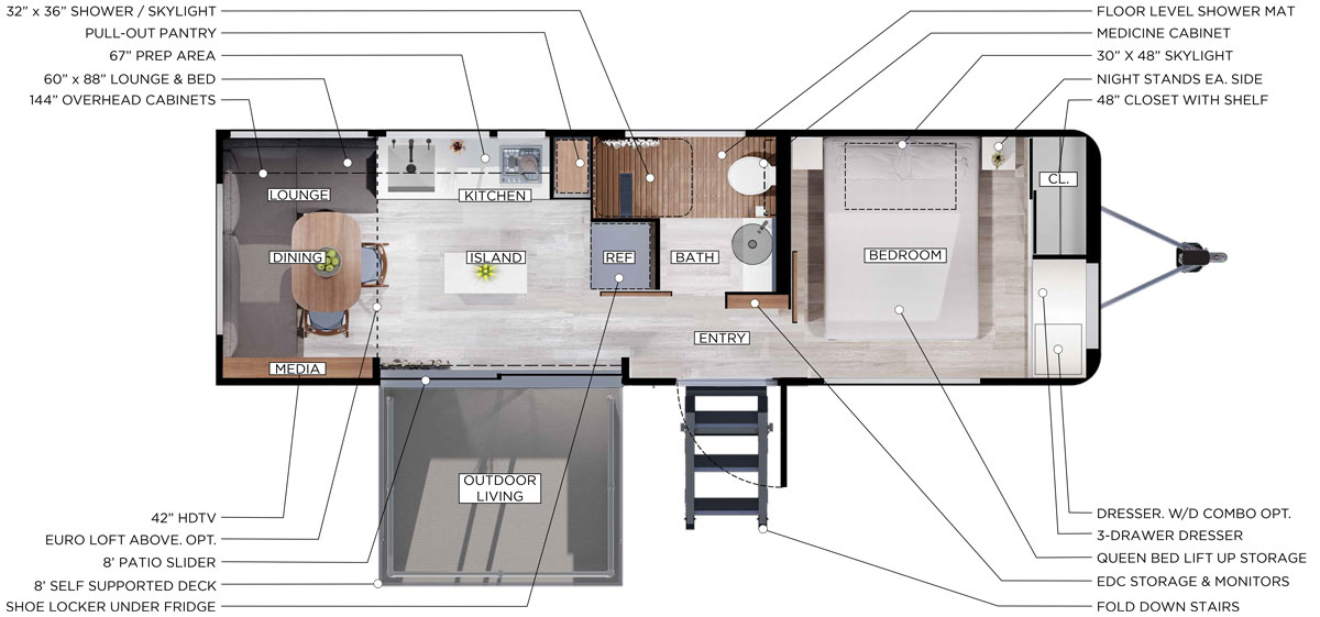 Living Vehicle 2020 Interior