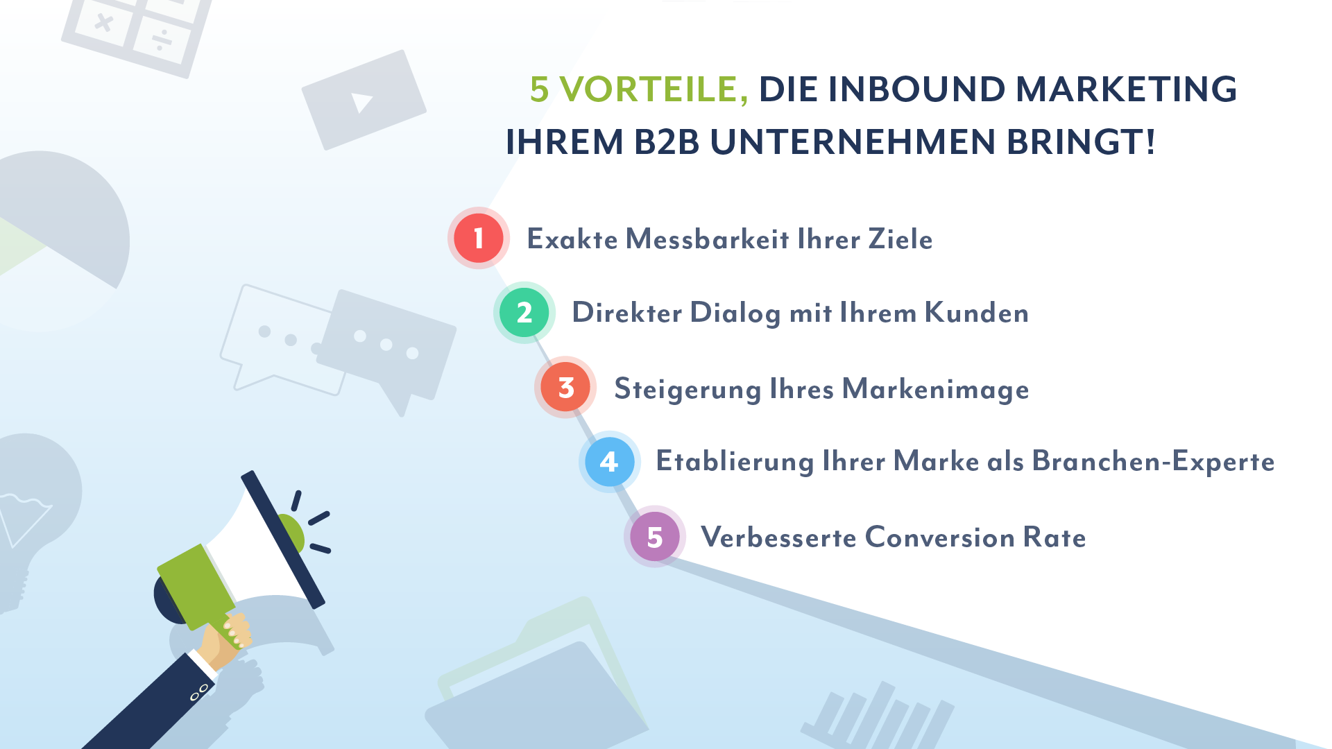 5 Vorteile, die Inbound Marketing Ihrem B2B Unternehmen bringt