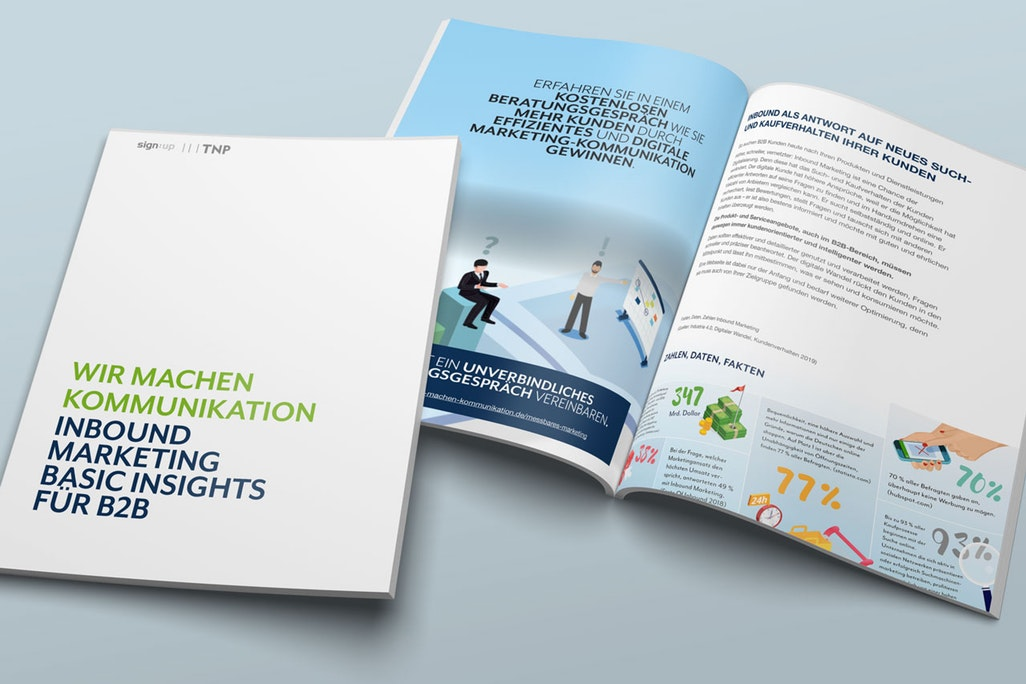 "[WHITEPAPER] ""Was ist Inbound Marketing - Lohnt sich Inbound Marketing auch zukünftig noch für kleine B2B Marketingabteilungen. Eine ehrliche Meinung"""