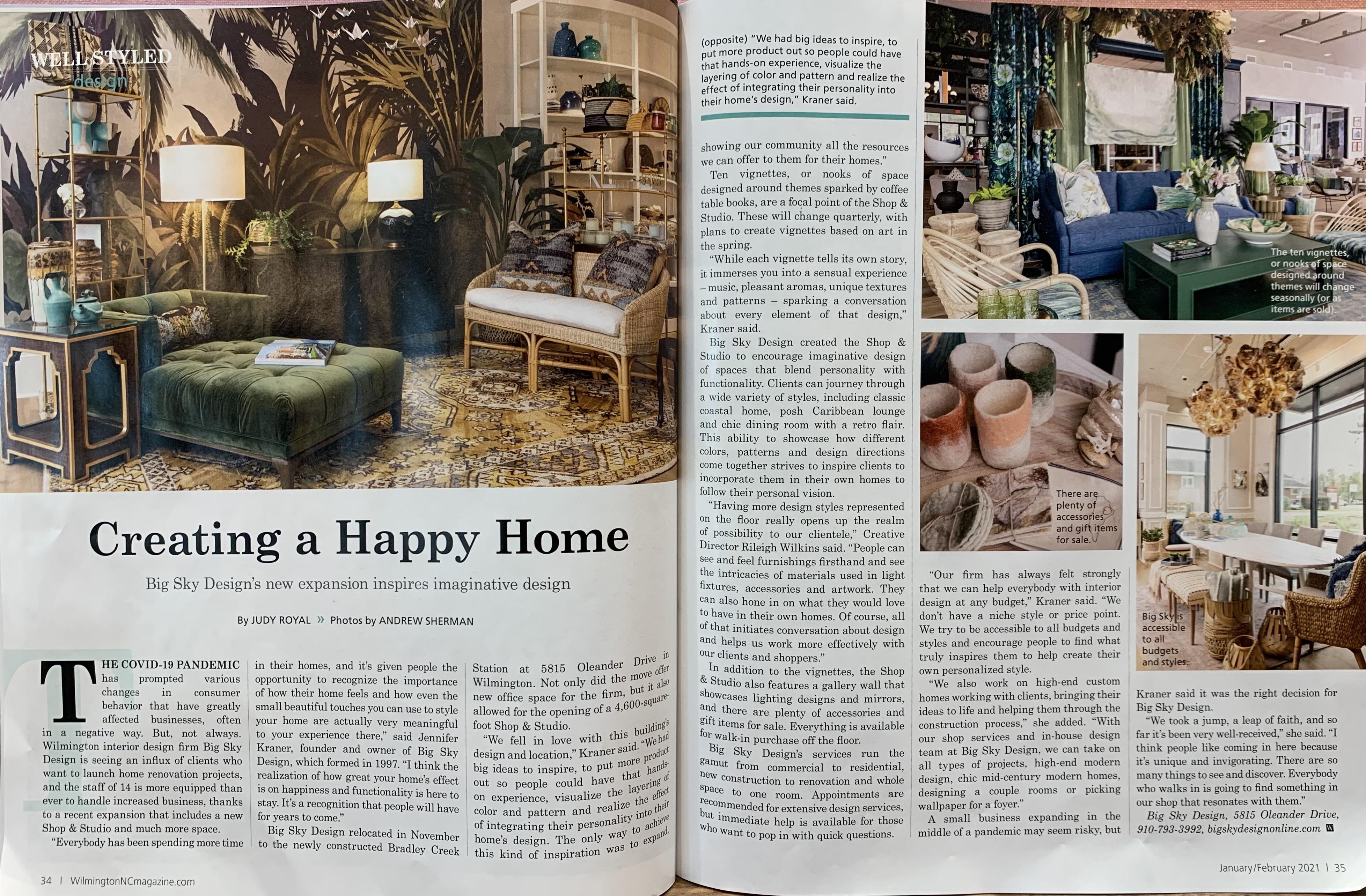 Wilmington Magazine, January/February 2021