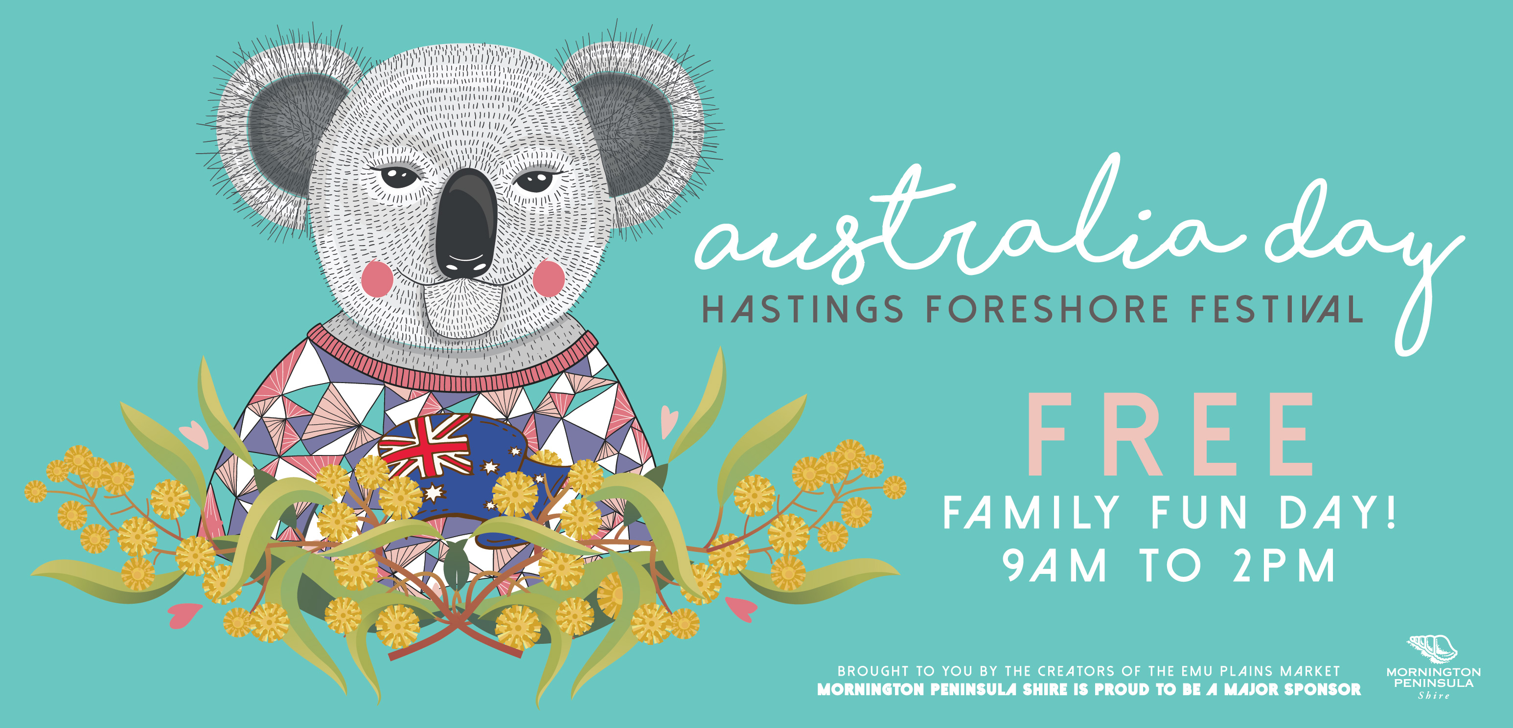 Special Australia Day market in Hastings!