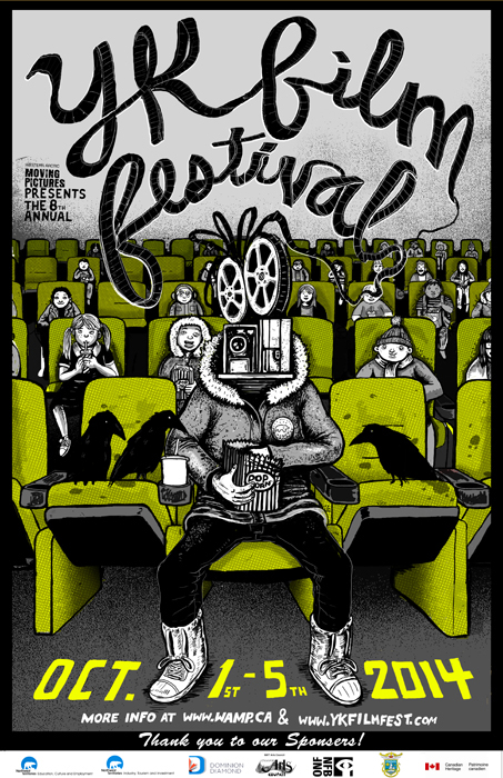 8th annual Yellowknife International Film Festival poster