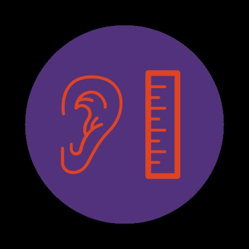 hearing level