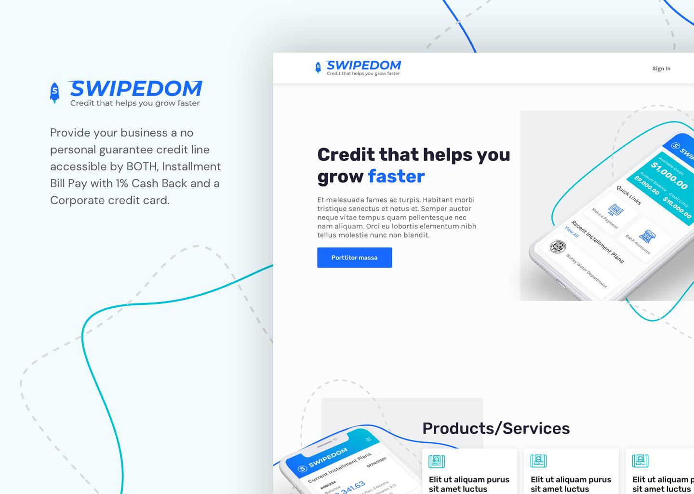 SwipeDom Web