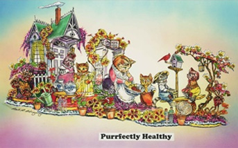 """Purrfectly Healthy"""