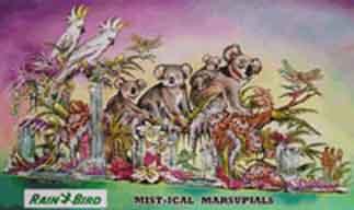 """Mist-ical Marsupials"""