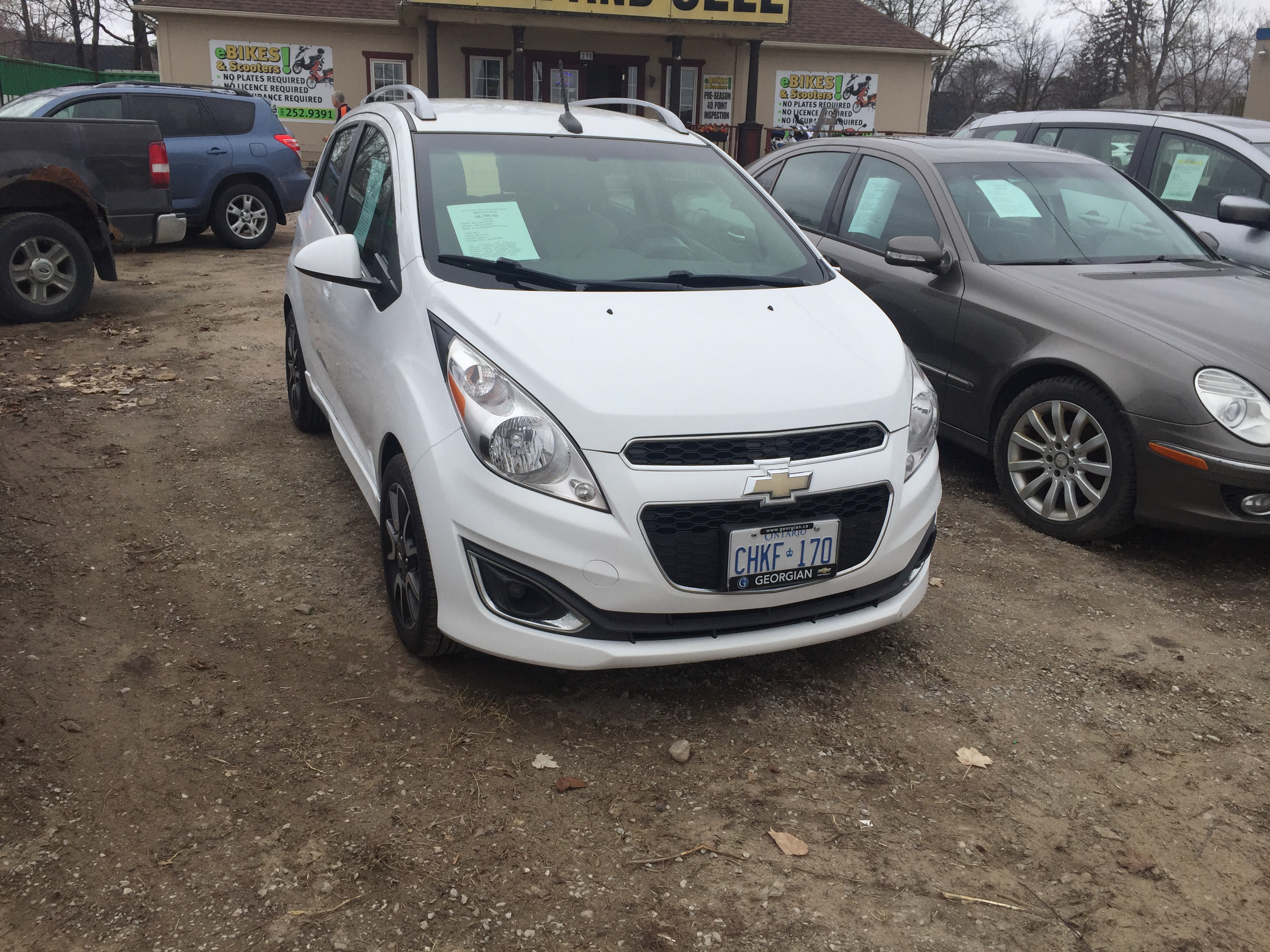 PRIVATE SALE- 2013 CHEVROLET SPARK-SOLD