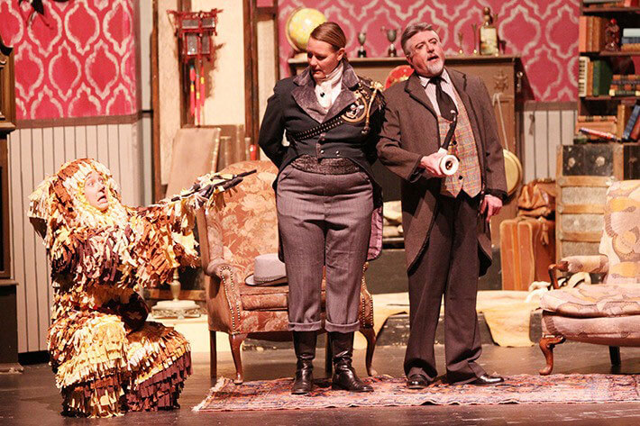 Sherlock Holmes and the Hound of Buskerville pantomime