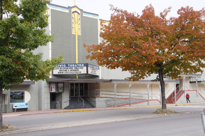 The Civic Theatre nelson bc