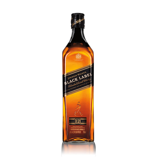 Johnnie Walker Black Label Blended Scotch Whisky 1.75L